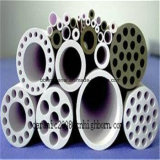 Tubo di ceramica refrattario di bianco Zro2