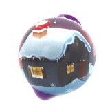 [كريسمتس] كرة قصدير صندوق مع وشاح حريري