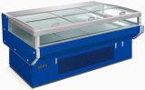 Congelador do indicador da carne fresca do mercado do talho com portas deslizantes (RG-30G)