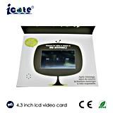 Самое лучшее цена брошюра LCD 4.3 дюймов видео- с наушником