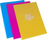 Het dubbele Plastic Dossier van het Bevestigingsmiddel van de Kleur