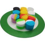 De in het groot Container van de Was van de SCHAR van de Kruiken van het Silicone van het Embleem BPA van de Douane Vrije