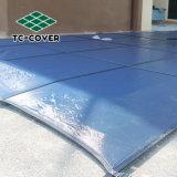 Venta caliente de la seguridad de malla cubierta de piscina de tamaño personalizado