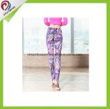Caneleiras personalizadas na moda da ioga do desgaste da ioga da fantasia do Sublimation da forma