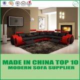 Corte Transversal Reclináveis moderno sofá de canto com a função