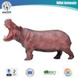 Qualität Soem-Plastik-Belüftung-wildes Tier-Flusspferd-Spielwaren