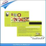 Ymck 4/4 carte de PVC de plastique de l'épaisseur 0.76mm d'impression de couleur