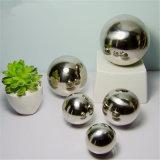 10mm-5000mm SS201 SS304 hueco de acero inoxidable pulido espejo Esfera para jardín al aire libre o juguetes