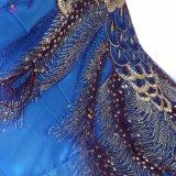 Мантия вечера платья выпускного вечера краткости картины павлина Applique Fashionble