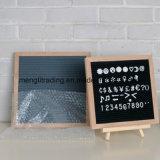 フェルトのボードのブナフレームの文字およびさまざまな立場が付いている可変性のフェルトの文字のボード