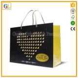 Bolso de empaquetado de papel de las compras de la alta calidad (OEM-GL010)