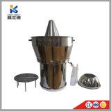 Macchina di estrazione dell'olio del Jatropha del grado/vapore superiori Distillator