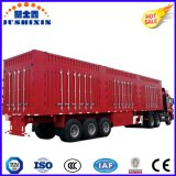 공장 가격 40ton 수용량 알루미늄 날개 밴 또는 전기 통제 문을%s 가진 상자 실용적인 트레일러