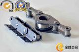 Zubehör-Rollen-Ketten-industrielle einzelner Strang-Stahlförderanlagen-Kette