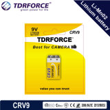 9V 5年の保存性の低い自己のDicharge中国Fatoryのリチウム李Mno2電池(CR9V)