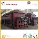 Machine chauffée à la vapeur de dessiccateur d'argile avec les lames de agitation