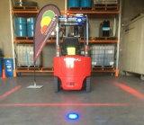 Diodo emissor de luz Pedestrian da zona vermelha do Forklift da atividade secundárioa que adverte Light9-80V