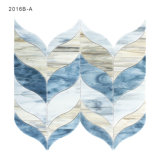 Mattonelle di mosaico italiane di vetro macchiato di disegno