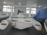 Liya 6.6m 팽창식 배 조종 장치 섬유유리 로잉 배