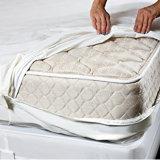 De VinylBrandkast van het Bewijs van het Insect van het bed en Matras Zippered Encasement, de Dekking van de Koning van de Bescherming Hypoallergenic de Waterdichte van de Matras