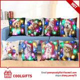 Caisses carrées de palier d'éclairages LED de Multi-Couleurs avec le modèle de Santa de Noël