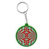Cadeaux promotionnels personnalisés, PVC trousseau de clés en caoutchouc, plastique de la chaîne de gros de trousseau