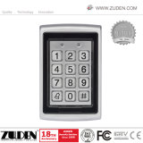 Металлические клавиатуры RFID и управления доступом с помощью считывающего устройства карточки