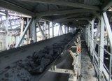 Correia transportadora de transporte para a fábrica de cimento/ Estação de Energia