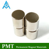 N42 de Hoge Magneet van NdFeB van de Cilinder met het Magnetische Materiaal van het Neodymium