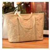 新しいHandbags Women Tote Designer到着の空想のレースの女性原因袋(WDL0979)