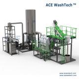 Industriels contaminés automatiquemachine de recyclage des déchets en plastique