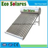 120L compacto aquecedor solar de água de baixa pressão/Calendator Solares de Agua