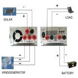 12V 24V 600W Gerador eólico controlador de carga, Controlador de Carga de vento solar híbrido, certificação CE