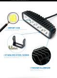 18W LED 일 빛 스포트라이트와 플러드 빛 12V LED 기관자전차 안개 램프