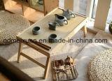 По контракту натурального дерева складные деревянные ноутбук складного стола компьютерный стол письменный стол для приготовления чая и Таблица (M-X3222)