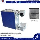 Preço de fábrica plástico da máquina da marcação do laser da fibra do metal 20W