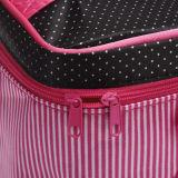 Коробки состава девушок большой емкости мешок портативной многофункциональный косметический