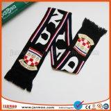 Étoffes de bonneterie de soccer en acrylique personnalisée Écharpe de ventilateur