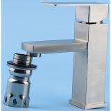 Robinet chaud de bassin de salle de bains d'acier inoxydable de vente