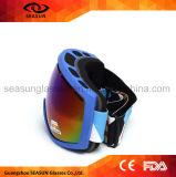 Lunettes de emballage transnationales antibrouillard sphériques de ski de neige de protecteur de yeux doubles