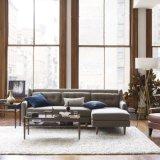 Sofà domestico del tessuto della mobilia in sofà di Chesterfield del salone