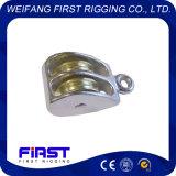 Constructeur chinois de double roue de poulies