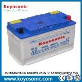 12V 96ah sèchent la batterie chargée de voiture pour mettre en marche la batterie de voiture hybride