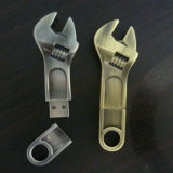 高品質! 金属のSpanner USB Flash Drives 4GB