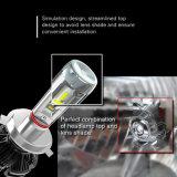 Het auto Pakket van het Embleem paste Super Heldere 50W LEIDENE Zes Bol aan H7 10000 LEIDENE van het Lumen X3 Koplamp H4