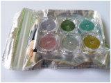 Scintillio/pigmento del bicromato di potassio del laser per arte del chiodo e colori della bottiglia 6 di bellezza 3G del chiodo in 1 insieme