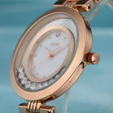 Förderung-Uhr-Edelstahl-Uhr mit Unisex (Wy-029E)