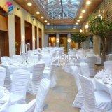 Hochzeits-Ereignishochwertiger Spandex-Bankett Chiavari Stuhl-Deckel
