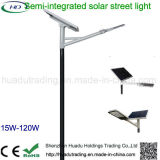 Solar Semi-Flexible Calle luz LED ajustable con instrumentos
