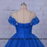 Платье церемонии нового прибытия -Плеча мантий венчания Debutante взрослый